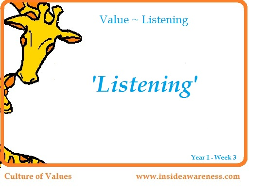 the value of listening 2018-8-13 by raleigh bowden i'm increasingly intrigued by the value of listening to people who think differently than me and finding ways to have both of us feel heard.